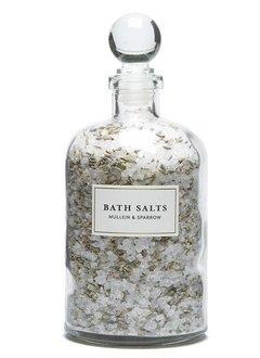 Mullein & Sparrow Lavender Blossom Bath Salts