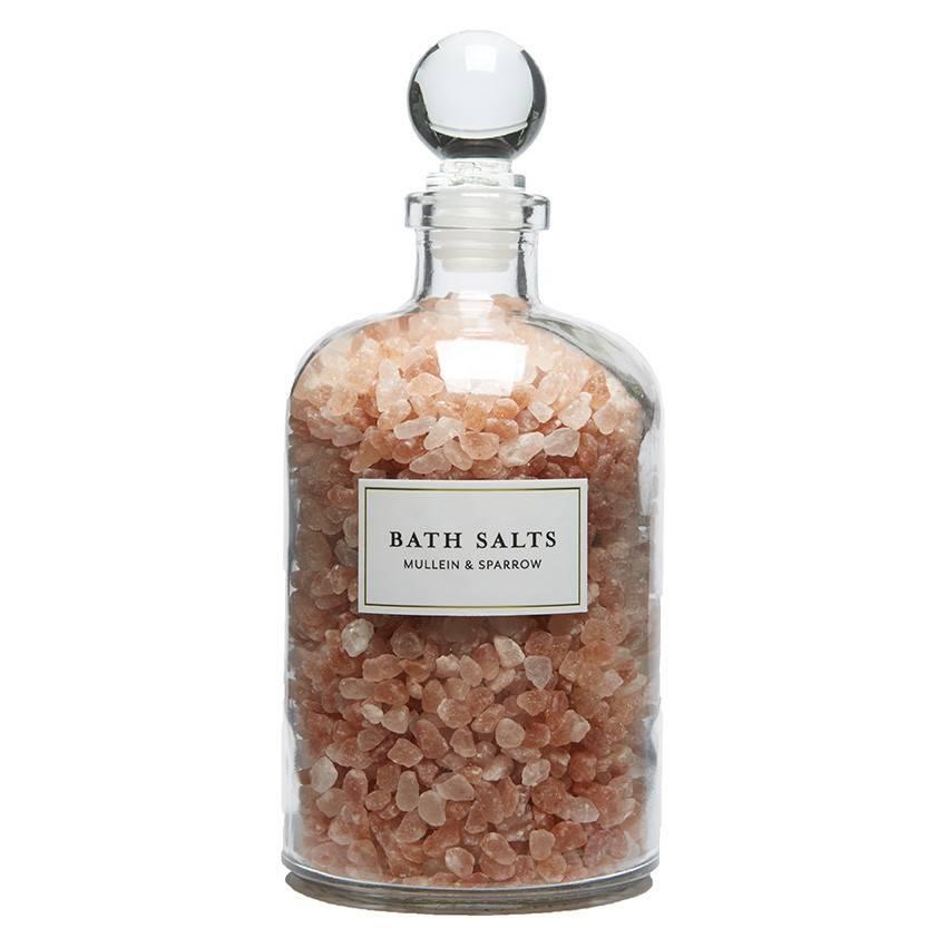 Mullein & Sparrow Mullein & Sparrow - Pink Himalayan Bath Salts