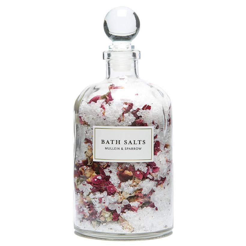 Mullein & Sparrow Mullein & Sparrow - Rose Blossom Bath Salts