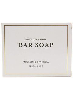 Rose Geranium Bar Soap