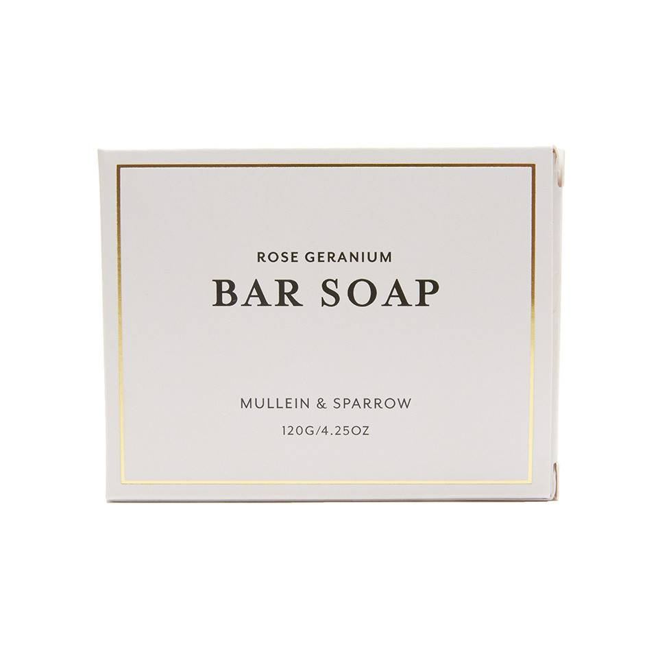Mullein & Sparrow - Rose Geranium Bar Soap