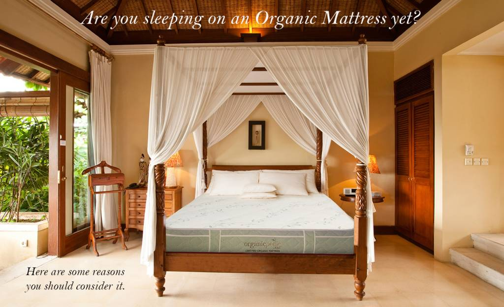 5 Reasons Why You Should be Sleeping on an Organic Mattress?