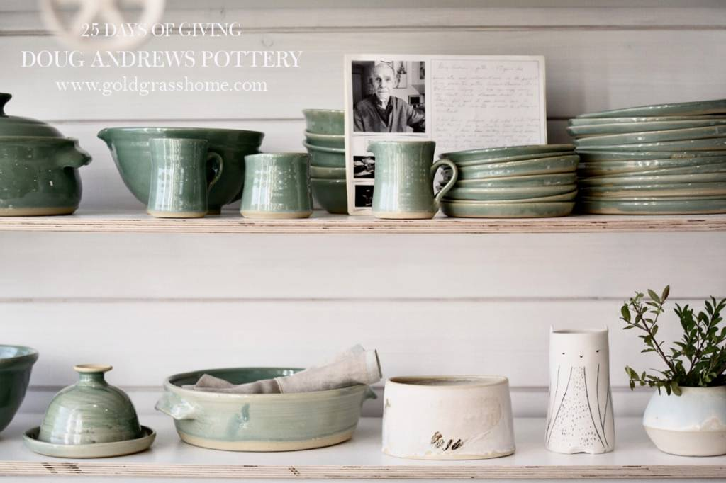 25 days of Giving – Day 22: Doug Andrews Pottery