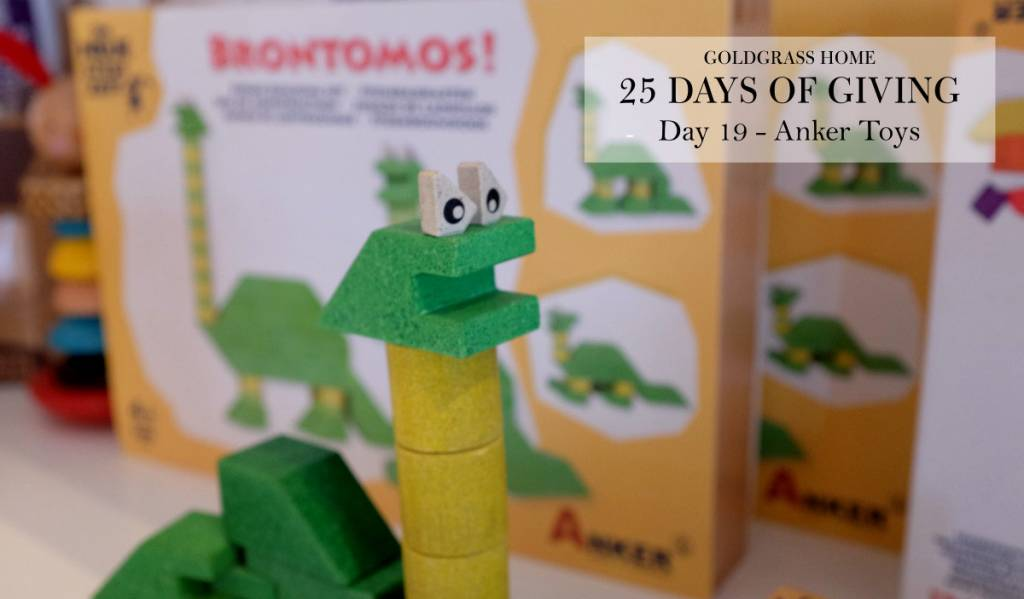25 Days of Giving – Day 19: Anker Toys