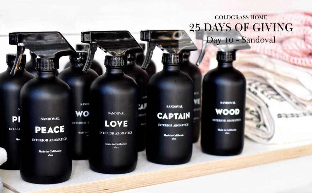 25 Days of Giving – Day 10: Studio Sandoval Aromatics