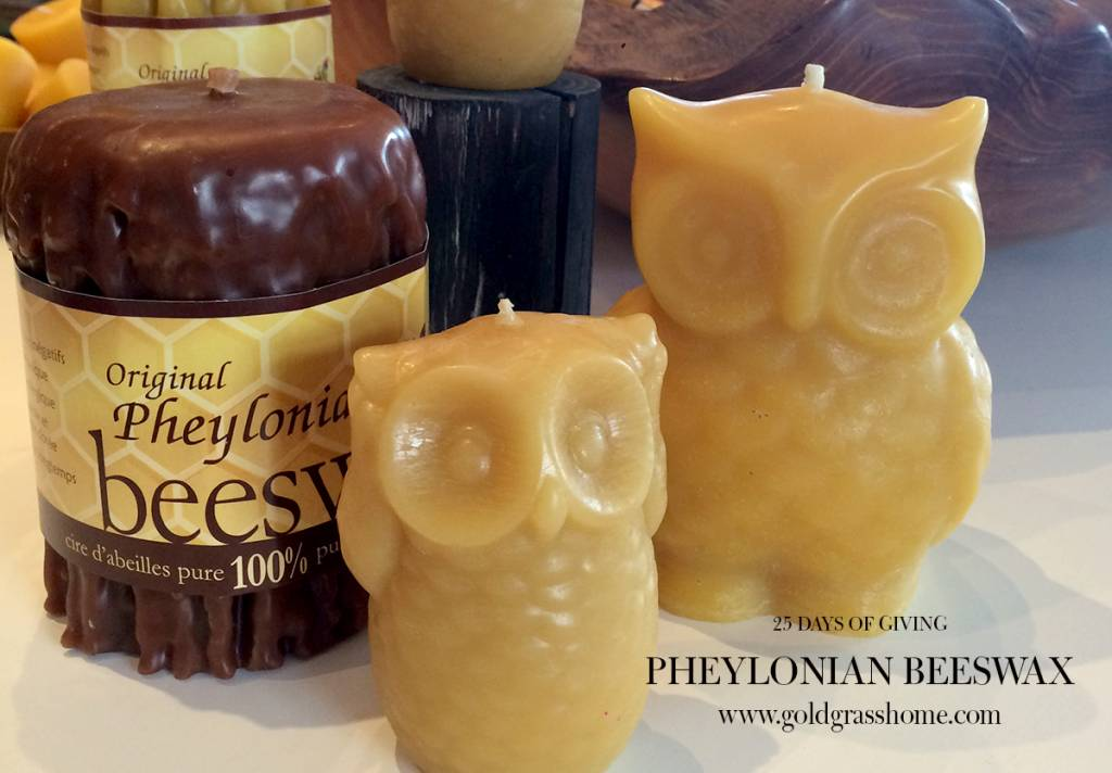 25 Days of Giving – Day 3: Pheylonian Beeswax Candles