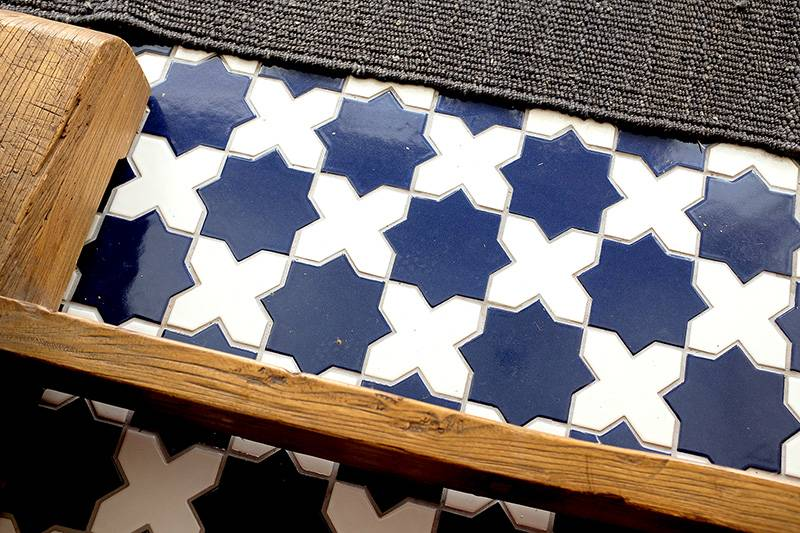 Fireclay Tile Star & Cross = The Best!