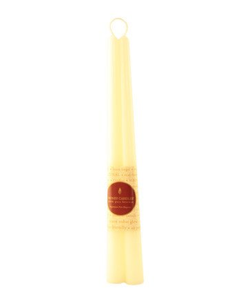 """Honey Candles Honey Candles - 100% Beeswax 12"""" Taper Pairs"""