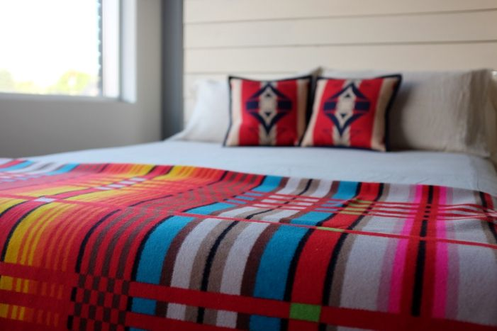 Dreamy Organic Bed of the Week: Pendleton Colours Unleashed