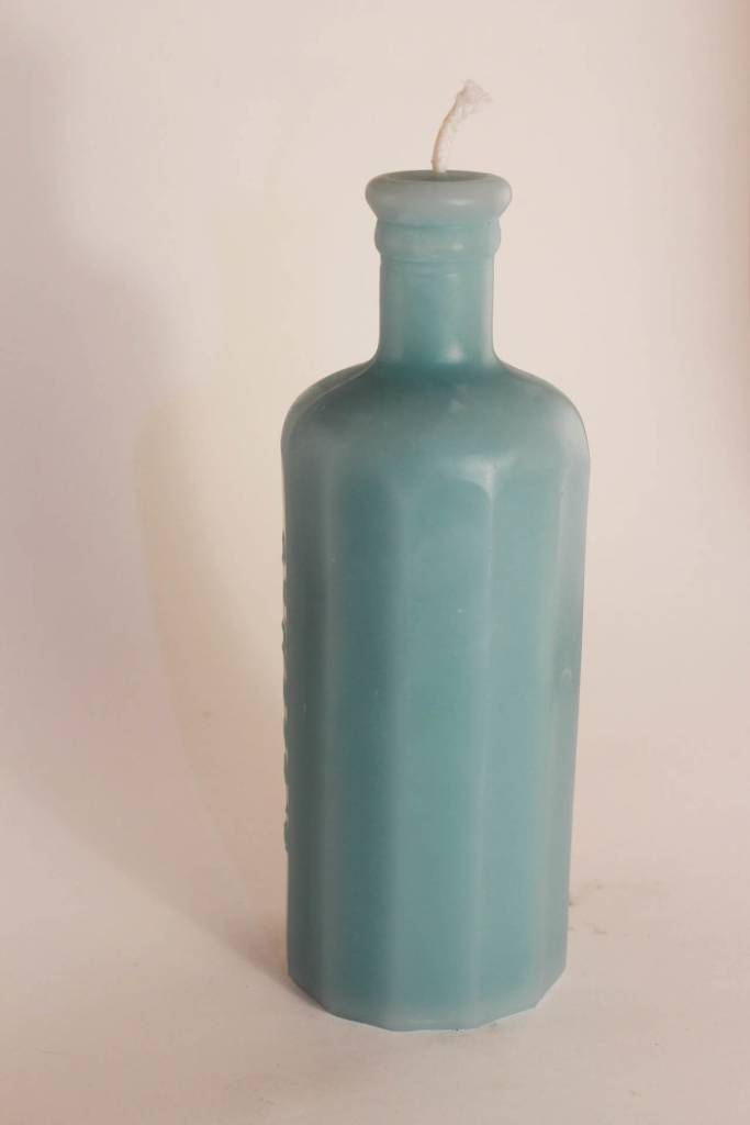 Greentree Home Greentree Bitters Faceted Bottle Candle