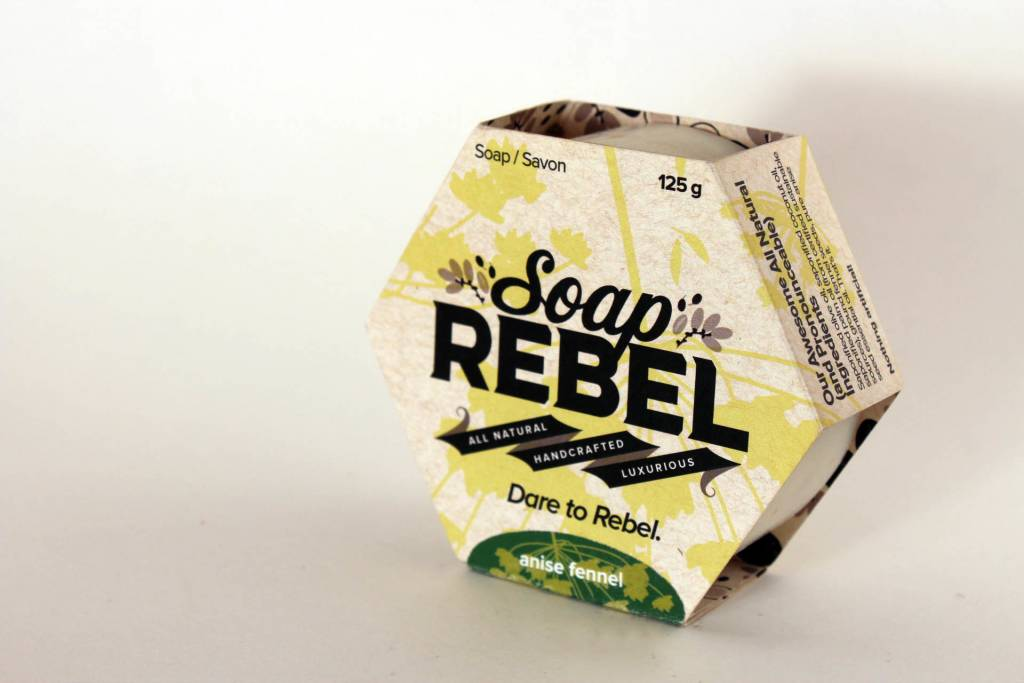 Soap Rebel - Bar Soap, 125g Anise Fennel