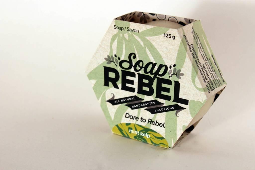 Soap Rebel - Bar Soap, 125g Mint Kelp