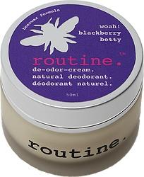 Routine Cream Deodorant - Blackberry Betty