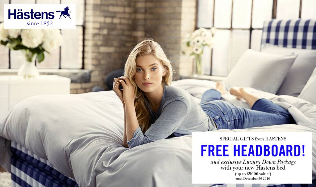 Special Hastens Gift Pack! Plan for Better Sleep in 2017...