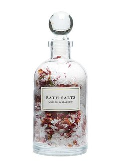 Mullein & Sparrow Mini Rose Blossom Bath Salts