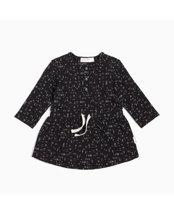 Miles Baby Dash Print LS Dress