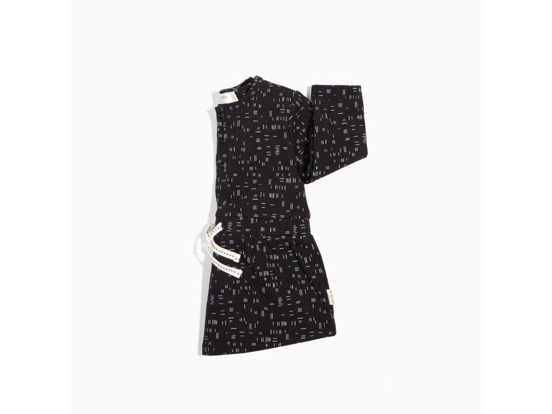 Miles Baby Dash Print LS Dress