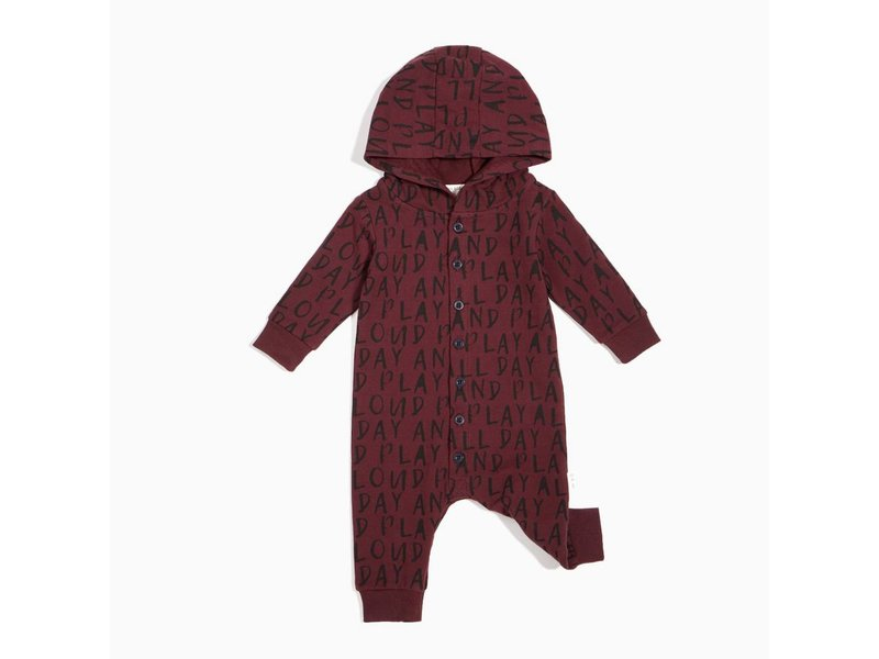 Miles Baby Play All Day Hooded Playsuit