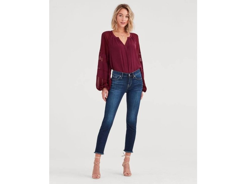 7 For All Mankind Roxanne Ankle in BAFA