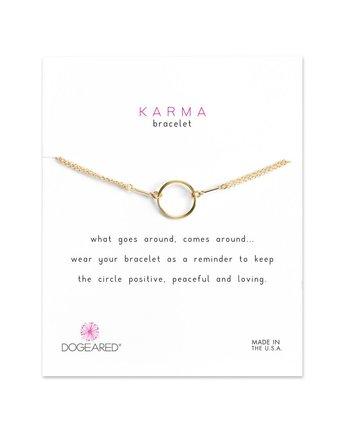 Dogeared Original Karma Bracelet