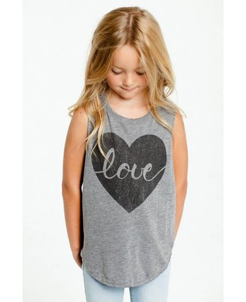 Chaser Heart Love Tank