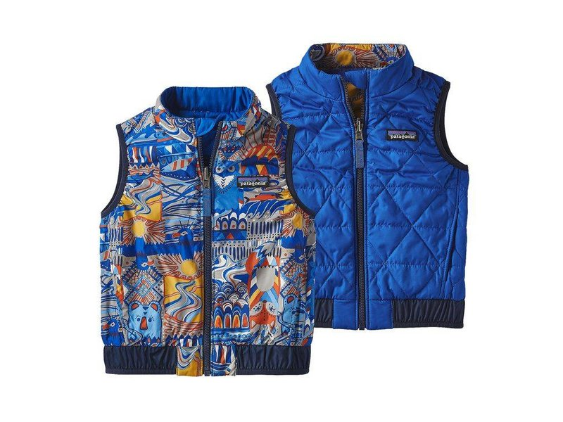 Patagonia Baby Reversible Puff Ball Vest