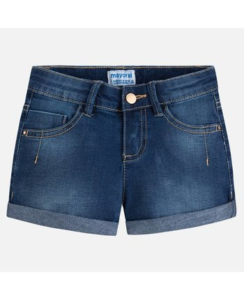 Mayoral 236 Denim Shorts