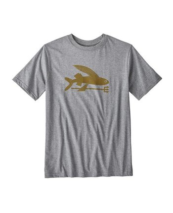 Patagonia Boys Flying Fish Organic Tee