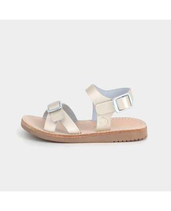 Freshly Picked Platinum Carmel Sandal