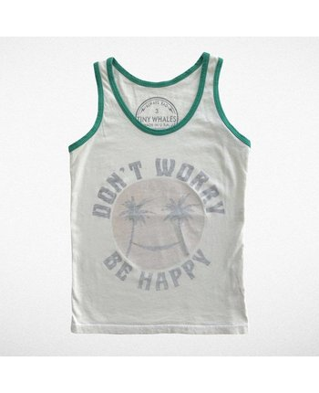 Tiny Whales Don't Worry Tank Top