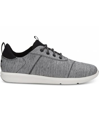 TOMS Men's Black Space-Dye Cabrillo Sneaker