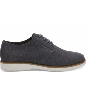 TOMS Men's Iron Grey Nubuck Preston