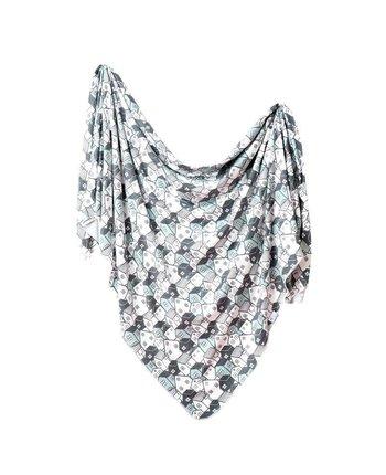 Copper Pearl Urban Knit Blanket