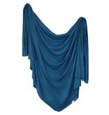 Copper Pearl River Knit Blanket