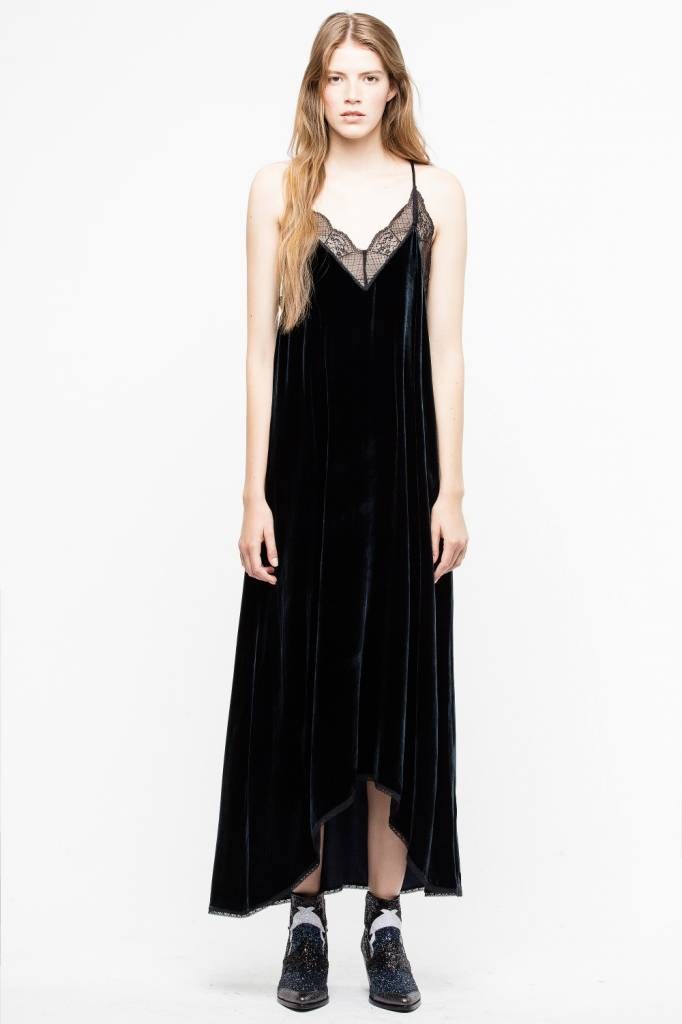Zadig & Voltaire RISTY VELOURS DRESS