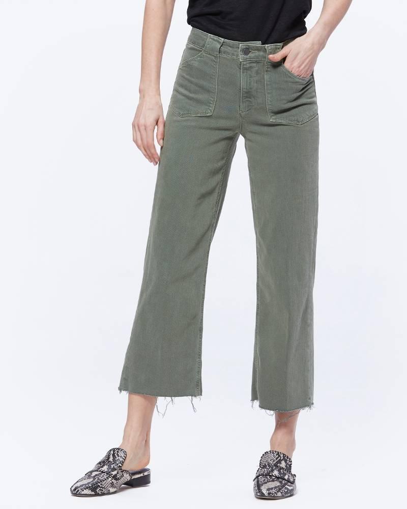 PAIGE Nellie Crop Pant w/Utility Pockets