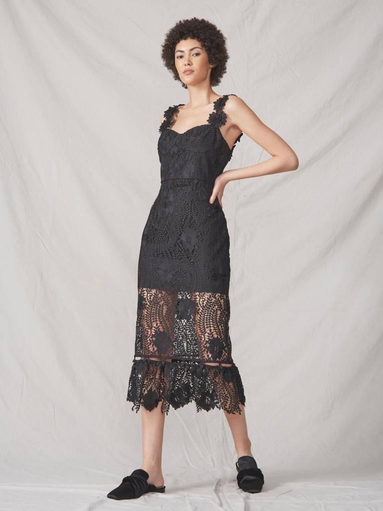 ALLEN SHWARTZ Bianca Bustier Dress