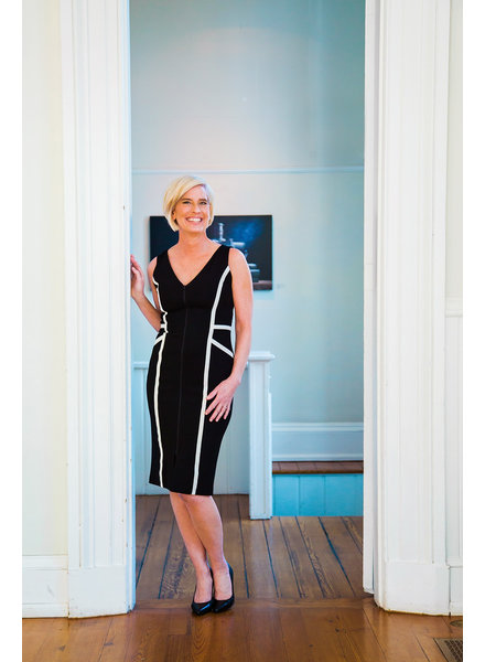 ISABEL DE PEDRO Sleeveless Pencil Dress