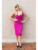 ISABEL DE PEDRO Wide Strap Pencil Dress