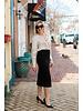 ISABEL DE PEDRO High Waist Pencil Skirt