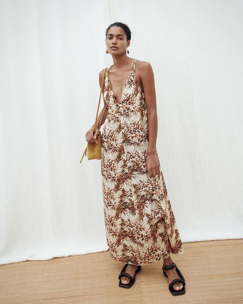 NANUSHKA Eden Maxi Dress