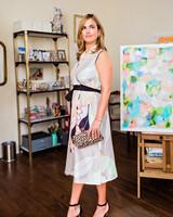 Psophia Print Dress