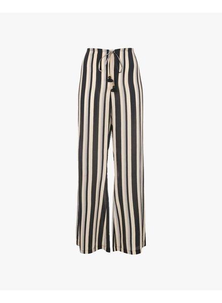 FIGUE Simone Pant - Desert Wanderer Stripe Onyx Black