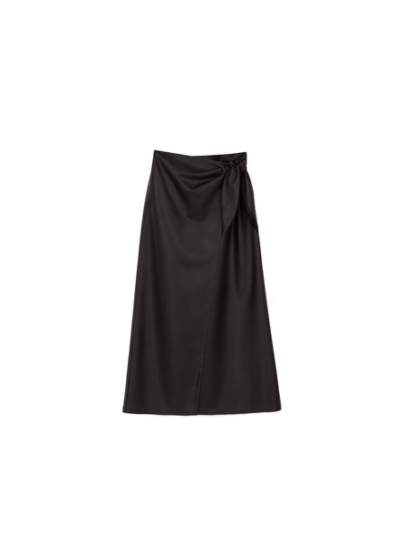 NANUSHKA Amas Vegan Leather Skirt