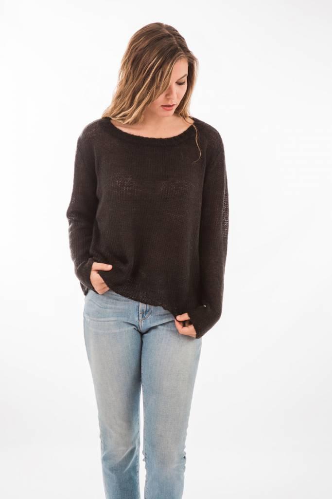TSALT Lucie Sweater Black S/M