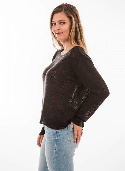 TSALT Lucie Sweater Black M/L