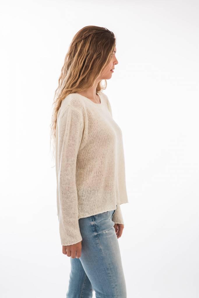 TSALT Lucie Sweater Ivory S/M