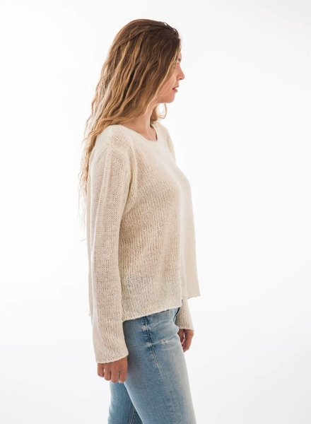 TSALT Lucie Sweater Ivory M/L