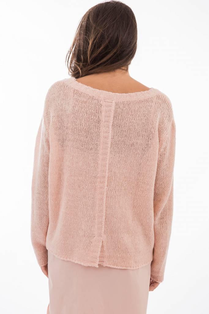 TSALT Lucie Sweater Blush S/M