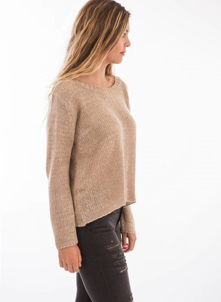 TSALT Lucie Sweater Taupe M/L